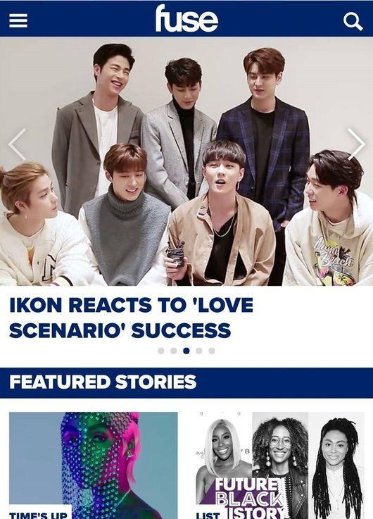 Fuse TV praises iKON's chart domination, deep lyrics and