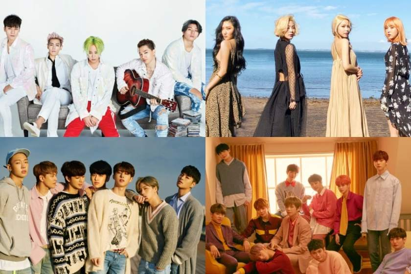 YG 3 – iKON, Big Bang & Winner rank side by side on Gaon